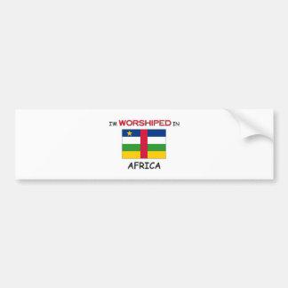 I'm Worshiped In AFRICA Bumper Stickers
