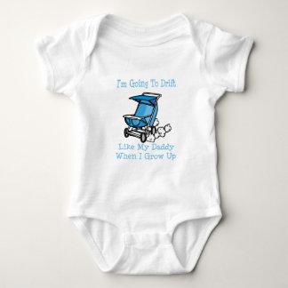 Im yendo a derivar como mi papá cuando crezco body para bebé