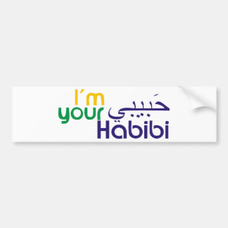 I'm your Habibi Bumper Sticker