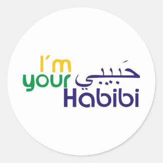 I'm your Habibi Classic Round Sticker