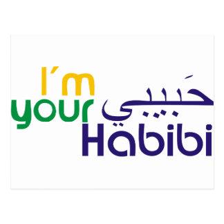 I'm your Habibi Postcard