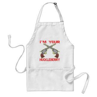 I'm Your Huckleberry 6 Guns Adult Apron