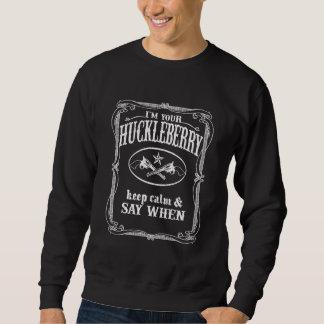 I'm Your Huckleberry (vintage distressed look) Sweatshirt