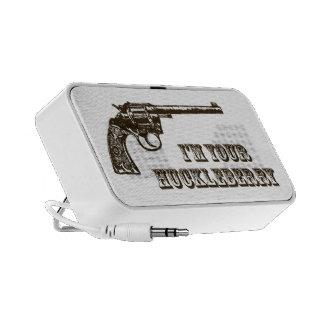 I'm Your Huckleberry Western Gun Mini Speaker