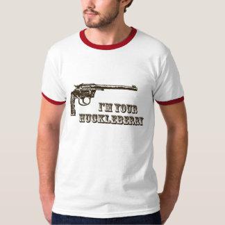 I'm Your Huckleberry Western Gun T-Shirt