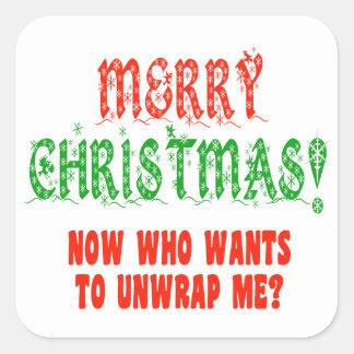 I'm Your Present Square Sticker
