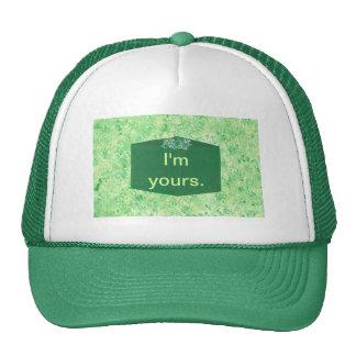 I'm yours humor fun Christmas gift hat