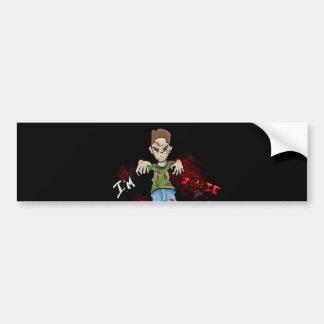I'M Zombie Boy Toy by GT Artland Bumper Sticker