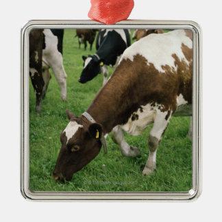 ima28991 adorno navideño cuadrado de metal