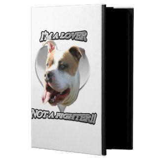 I'ma lover pitbull dog iPad air cover
