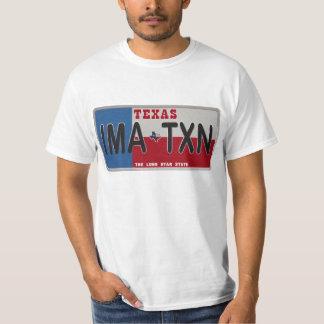 IMA-TXN License Plate shirt