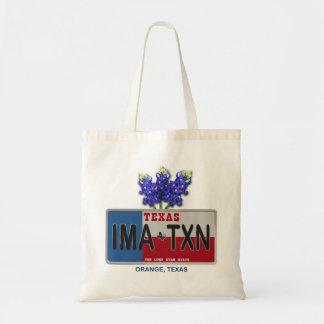 IMA-TXN Orange Texas bag