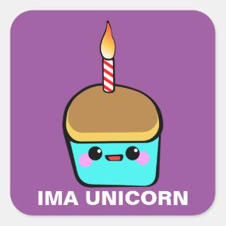Ima Unicorn Square Sticker