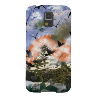 Imabari castle and flower and bird galaxy s5 case