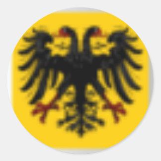 iMAC Army Symbol Round Sticker