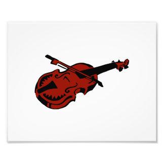 Imag rojo oscuro negro atado del arco de violín de fotografía