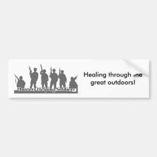 image003[1], Healing through the great outdoors! Bumper Sticker
