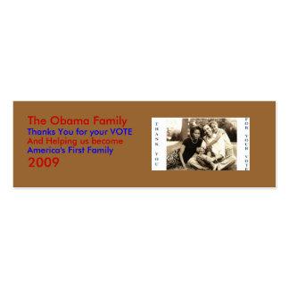 image0-6 la familia de Obama gracias… - Modifica Tarjeta De Negocio