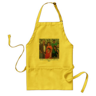 IMAGE124, Brothers and Sisters Are a Gift from ... Adult Apron