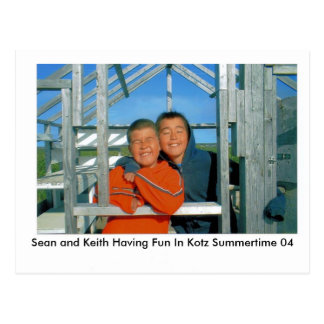 IMAGE1 (2), Sean and Keith Having Fun In Kotz S... Postcard