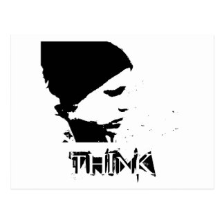 Image1l, THINK Postcard