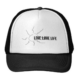 image-2 LIVE LOVE LIFE Mesh Hats