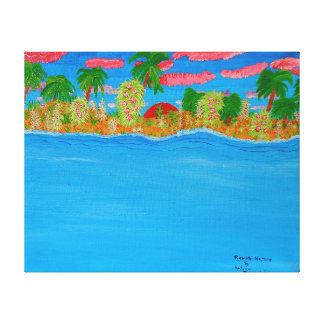 Image 600-dpi 20'x16'Picture Remote Nature Canvas Print
