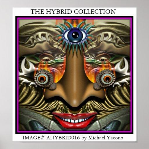 IMAGE# AHYBRID016 by Michael Yacono Poster