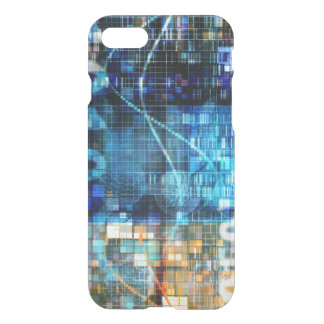Image Background Binary Code Technology iPhone 7 Case