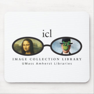 Image Collection Library Mouse Pad