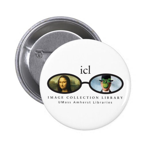 Image Collection Library Pinback Button