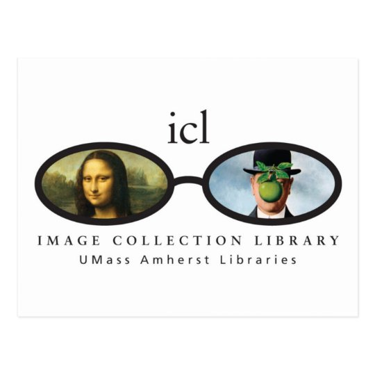 Image Collection Library Postcard