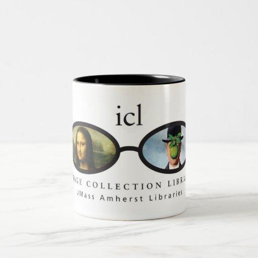 Image Collection Library Two-Tone Coffee Mug