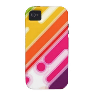 image colorful scratches iPhone 4/4S cases
