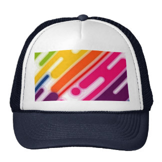 image colorful scratches trucker hat