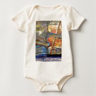 image en acrílico body para bebé