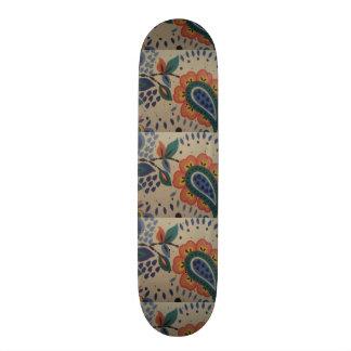image flower in heart form skateboard deck