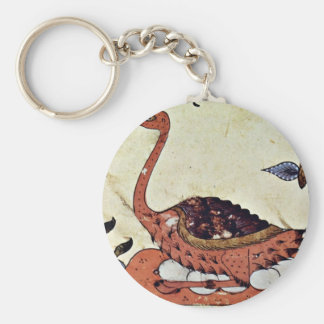 Image From The Book Of Animals Of Al-Jahiz Syria 1 Key Chain