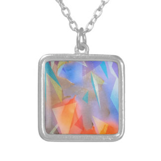 image happyness silver plated necklace