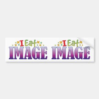 Image I Eat Car Bumper Sticker