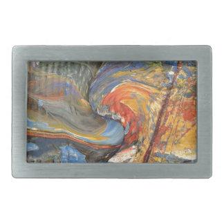 image in acrylic belt buckle