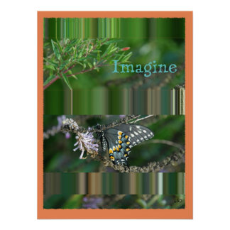 Image-ine Butterfly Print