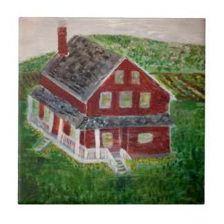 image.jpeg Dutch-American farmhouse Freeing Slaves Ceramic Tiles