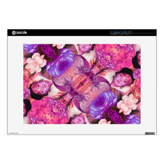 "image.jpegink Purple Vintage Woman Abstract Skin For 15"" Laptop"