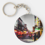 image.jpg New Orleans night life Basic Round Button Keychain