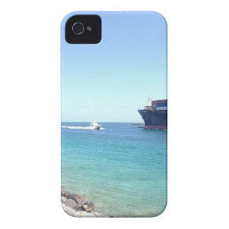 image.jpg south beach Miami Florida ocean and ship iPhone 4 Case