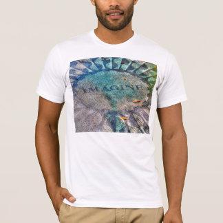 Image Mosaic Central Park Tshirt T-Shirt Tee Shirt