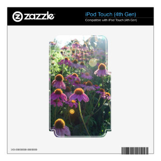 Image of a bunch of purple flowers iPod touch 4G skins