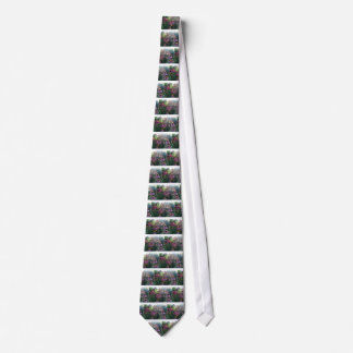 Image of a bunch of purple flowers tie