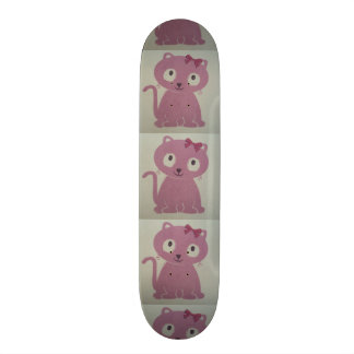 image of a cat skateboard